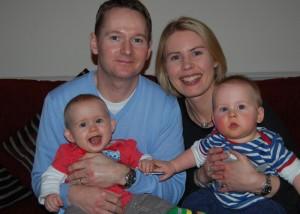 Robin Catherine and Twins